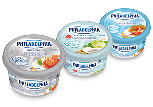 PHILADELPHIA Spreadable Cream Cheese