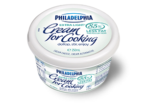 PHILADELPHIA Cream for Cooking, A cream Alternative
